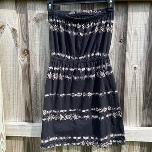 Missimo strapless summer dress/coverup small